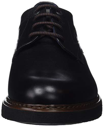 Saco Grafito Pl Warrior Fluchos brezza Negro Zapatos Para Negro Cordones De Derby Hombre Hzp4q