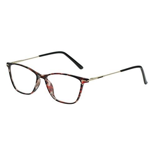 Blue Light Blocking Glasses Women Nerd Frame Fashion Computer Use ()