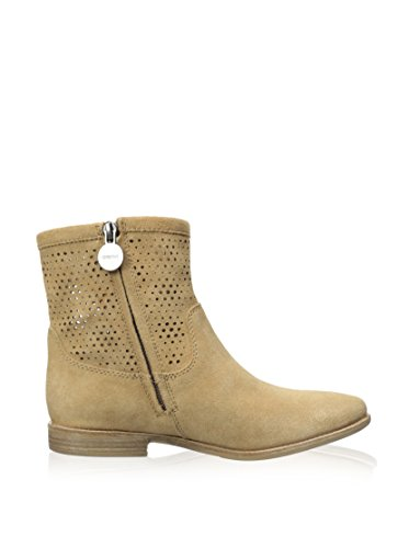 Geox Boots Ete - Femme - D Elixir A - Suede - Sand