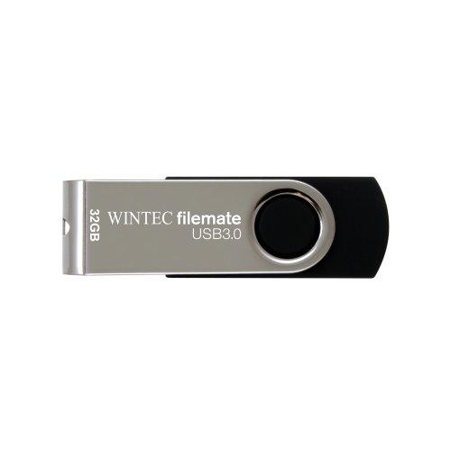 Filemate 3FMUSB332GWB-R Wintec 32GB Swivel USB 3.0 Drive - Retail