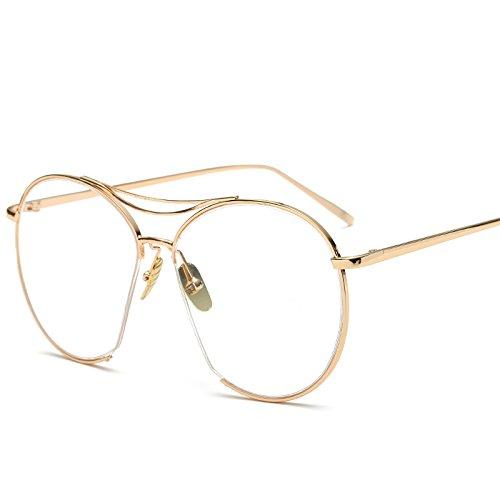 Gafas Gafas Tendencia Moda VREGF SilverBoxRedFilm Rosegoldflatlight Nueva De Marea Espejo De Sol Rana Sol w1Y5qtA5