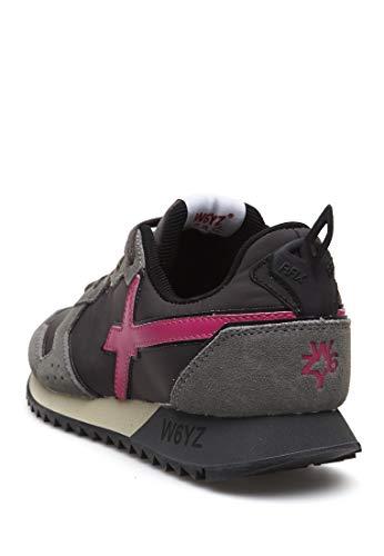 sneakers E Nylon W6yz In Jet w Pelle Grigio EwqwBZ