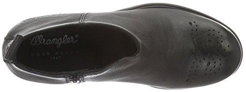 Wrangler Women's Gipsy Booty Ankle Boots, Black Black (62 Black)