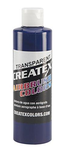 Createx Colors Paint for Airbrush, 8 oz, Transparent Brite Blue ()