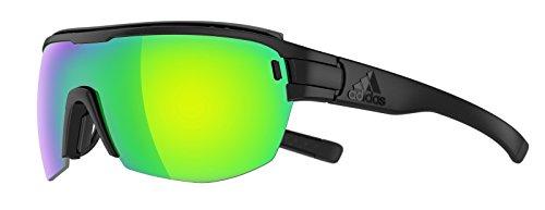 Aero lunettes zonyk Adidas Pro nbsp;Noir mat Green Midcut AD11 9100 nbsp;Large Mirror qHpE4R
