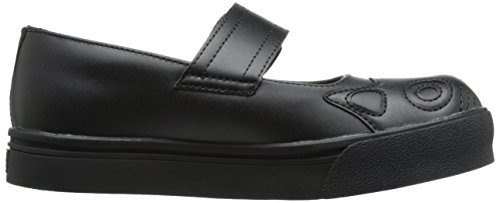 Tuk Womens Out Kitty Mary Jane Nero Piatto