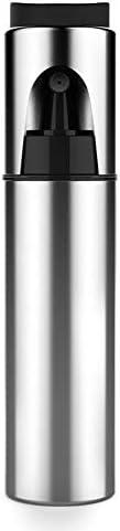 LOCKYOU オリーブオイル噴霧器 屋外バーベキュー ブラシ付きステンレス鋼調理スプレーボトル