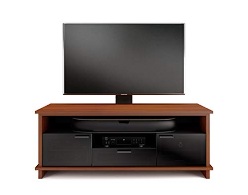 BDI 8828 CH Braden Triple Wide TV Stand & Media Cabinet, Natural Cherry ()