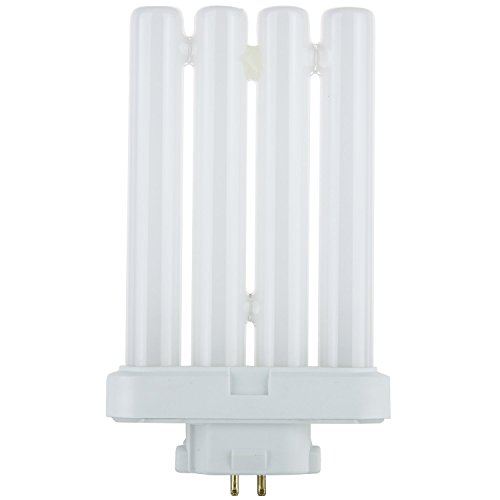 Sunlite FML27/65K/CD1 27-watt FML 4-Pin Quad Tube CFL Light Bulb, GX10Q-4 Base, Daylight