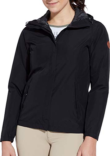 Alpine Design Women's Willow's Peak 2 Layer Rain Jacket (Caviar, -