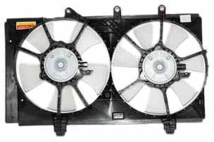 TYC 620830 Dodge Neon Replacement Radiator/Condenser Cooling Fan Assembly ()