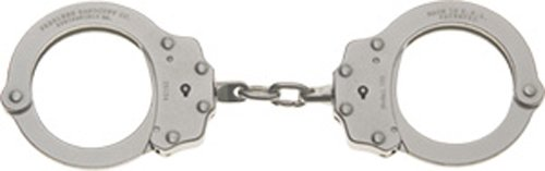 Peerless Handcuff Company Chain Link Handcuff, Nickel Finish
