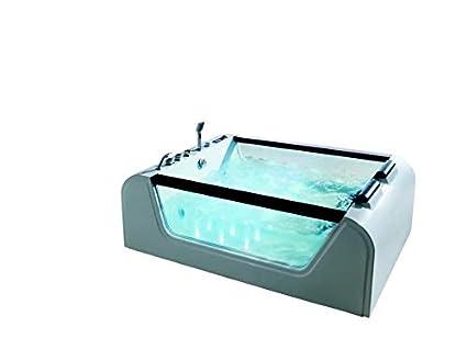 Vasca Da Bagno Litri Acqua : Vasca da bagno con idromassaggio detroit per persone
