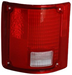 TYC 11-1283-02  Chevrolet/GMC Driver Side Replacement Tail Light Assembly Lens - Driver Side