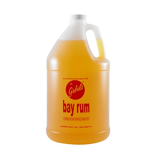 GABELS Bay Rum After Shave Lotion Made with Original Bay Rum Oils from the Virgin Islands 128oz/1 Gallon