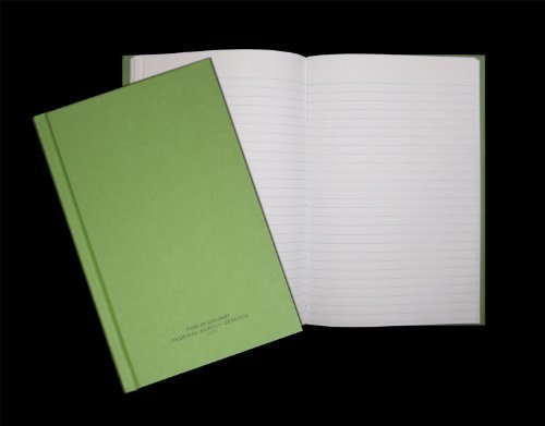 Federal Green (Green Military Log Book, Record Book, Memorandum Book, 5-1/2 X 8 Green LogBook NSN 7530-00-222-3521)