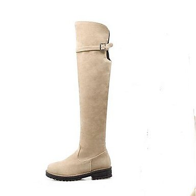 2 Winter 3 Nubuck amp;xuezi 2in Boots Beige Casual beige Comfort 4in Fashion Gll Black leather Women's Boots Brown 6YqwZf