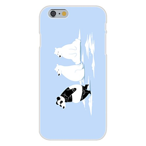 Apple iPhone 6 Custom Case White Plastic Snap On -