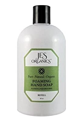 Foaming Hand Soap 100% Natural Luxurious Organic, Paraben & Sulfate Free REFILL