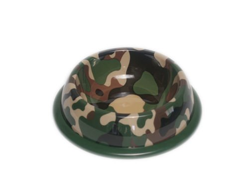 PawProof Large Designer Pet Bowls, Outdoor Collection, Camo, My Pet Supplies