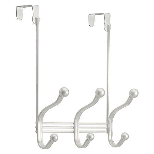 InterDesign York Lyra Over Door Storage Rack - Organizer Hoo