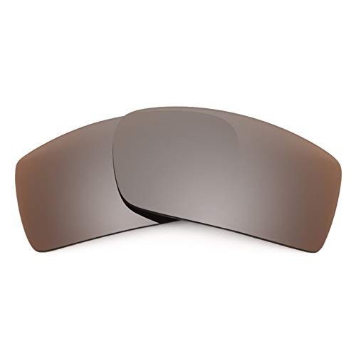 Revant Polarized Replacement Lenses for Oakley Gascan Elite Flash Bronze MirrorShield