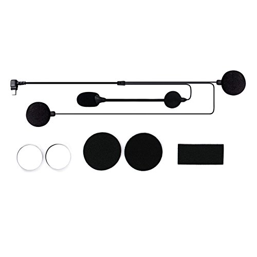 Original Microphone for SCS ETC S-1/S-2/S-8 Motorcycle Bluetooth Headset, Stick Pads Included by SCS ETC