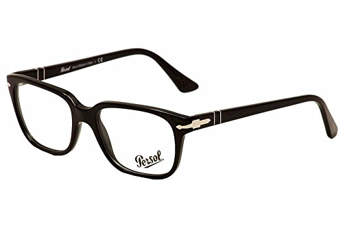 Persol Montures de lunettes 3094 Pour Homme Black, 53mm 9014: Black