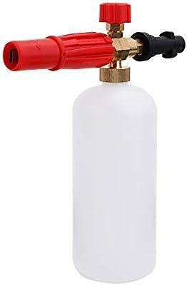 Voupuoda 1L Lavadora a presión Nieve Lavado de Coches Botella de ...