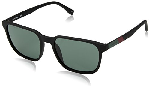 Sunglasses Square Mm Matte Men's Black L873s 55 Color Plastic Block Lacoste C6qcYTT