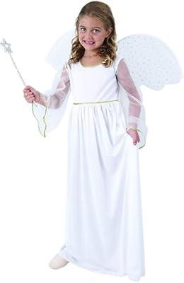 Disfraz ángel blanco niña - 10 - 12 años: Amazon.es: Juguetes y juegos