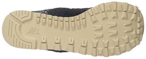 New Balance 574, Sneaker Uomo Nero (Black)