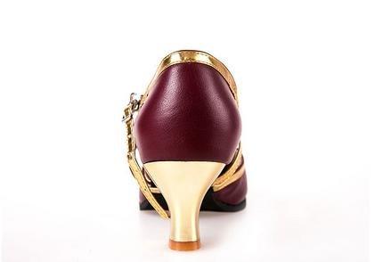 zapatos latinos de invierno femenina Red