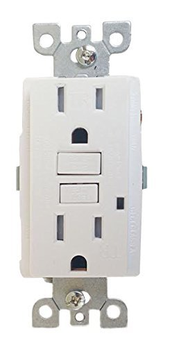 10 pack Tamper & weather Resistant Gfi Gfci Outlet 15 Amp 120 Volt with wall plate