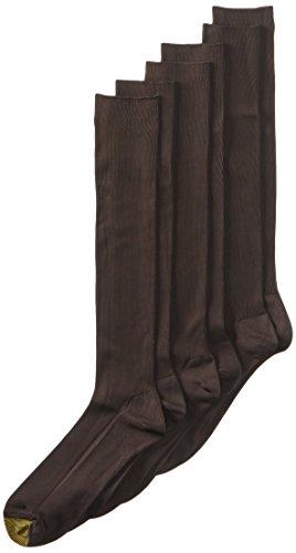 Gold Toe Men's 3-Pack Metropolitan Over the Calf Dress Socks