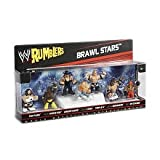 WWE Wrestling Rumblers Mini Figure 7Pack Battle Royale Pack Brawl Stars