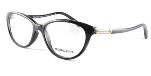 Michael Kors Portillo Eyeglasses MK4021B 3045 Black 54 16 - For Kors Women Michael Eyeglasses