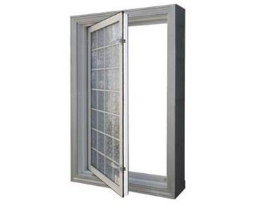 "Wellcraft 29"" x 47"" Acrylic Block Egress Window"