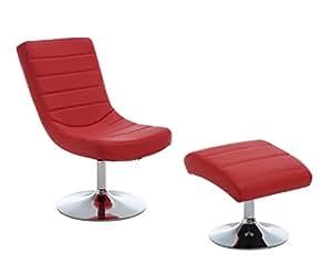 247SHOPATHOME IDF-AC6036RD Living-Room-Chairs, Red