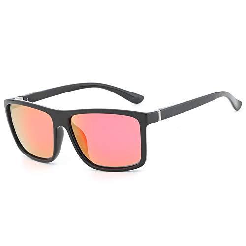Gafas De Sol FKSW Hombres Negro Gafas De Protección Polarizadas Marca De Diseño Gafas Cuadradas Conducir Gafas Hombre Sol black Gafas De red Sol Rojo para De wFznFxqUrI