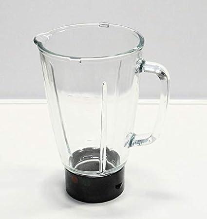 Moulinex - Jarra con base + junta + tornillo para batidora de vaso Moulinex