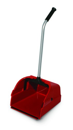 Delamo 8497-6 Jumbo Debris Lobby Pan, Red (Pack of 6) by Delamo