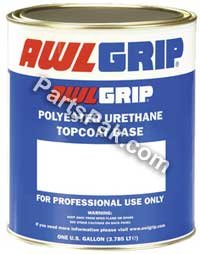 Jet Coat - Awlgrip Polyester Urethane Topcoat Base Paint Gallon - G2017G - Superjet Black