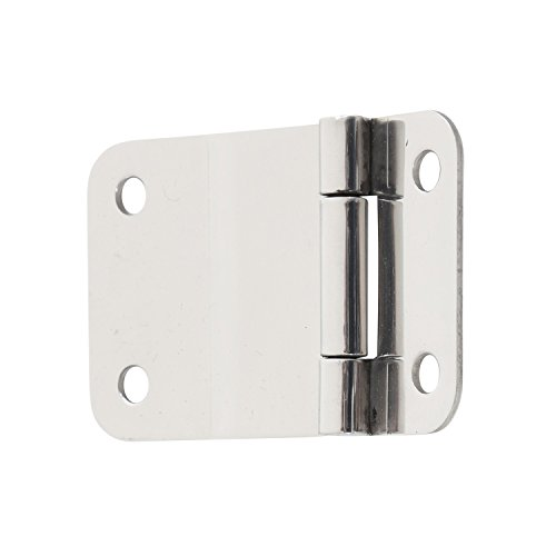 Lower Tailgate Hinge - Smittybilt 7419 Stainless Steel Lower Tailgate Hinge