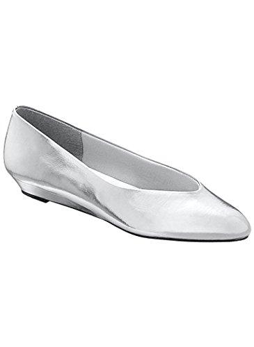 Beacon Womens Adult Jan Dress Flat synthetic Silver WY9LI