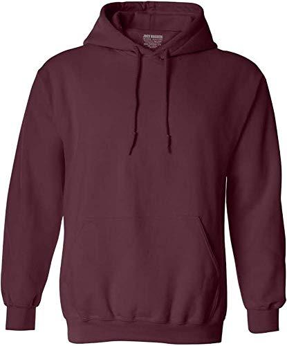 Hoody Maroon Sweatshirt (Joe's USA Hoodies Soft & Cozy Hooded Sweatshirt,Medium Maroon)