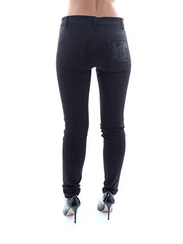 Trouser Donna Pantaloni Nero Jeans Lady Versace qFwUvEOxSn