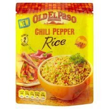 Old El Paso Chilli Pepper Rice 250G