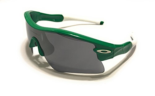 Oakley RADAR RANGE SUNGLASSES TEAM BRIGHT GREEN WITH BLAC...