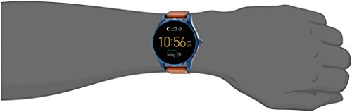 Large Product Image of Fossil Q Marshal Gen 2 Touchscreen Brown Leather Smartwatch